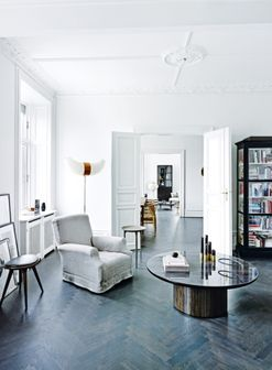 House tour: a spacious 19th-century apartment gets a cool Nordic makeover