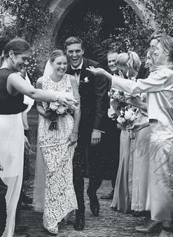 Inside fashion buyer Chloe Sippe's classic English wedding