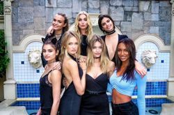 What it looks like when the Victoria's Secret Angels holiday in Las Vegas