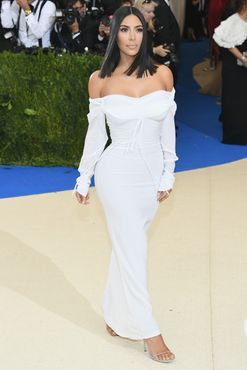 Kim Kardashian is wearing Vivienne Westwood to the Met Gala