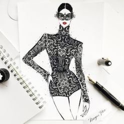 Fashion illustrator Megan Hess on how drawing dresses became a career