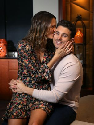 Laura just won Matty J's heart in The Bachelor Australia finale
