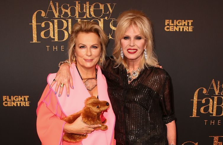 Watch: Ab Fab's Jennifer Saunders and Joanna Lumley on their favourite character costumes