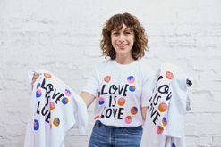 Gorman are giving away T-shirts in exchange for a vote towards marriage equality