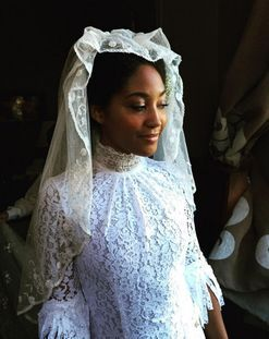 Inside stylist Solange Franklin's Brooklyn wedding with a Southern twist