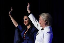 Hillary Clinton is Katy Perry's latest shoe muse