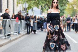 Street style from Paris Fashion Week spring/summer '18