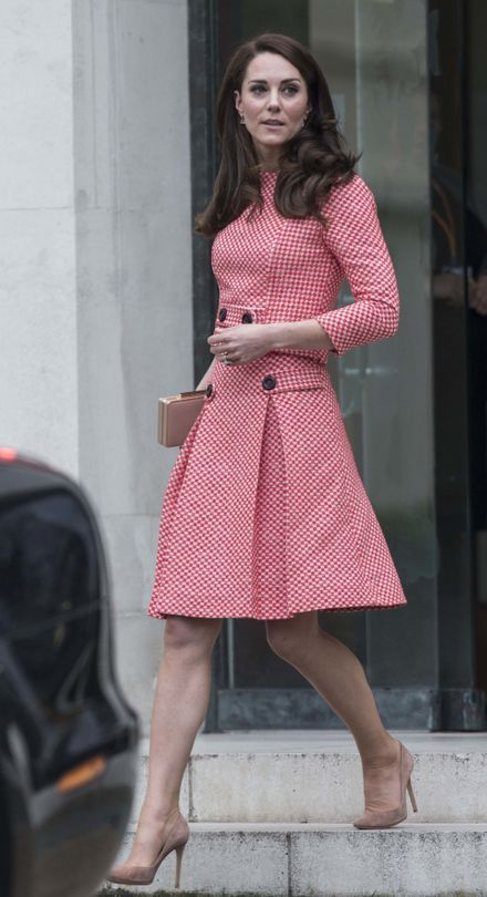 Catherine walker red coat dress a - Catherine Duchess Of Cambridge Style File Vogue Australia