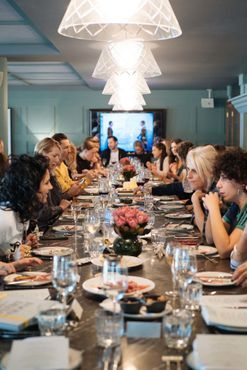 Inside the Australian Fashion Chamber MBFWA lunch at Hotel Centennial