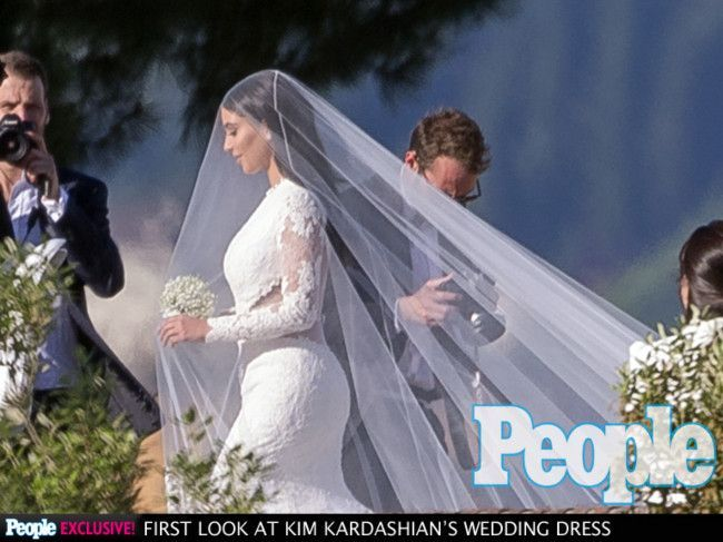 Kim and kanyes wedding all the photos vogue australia the wedding junglespirit Image collections