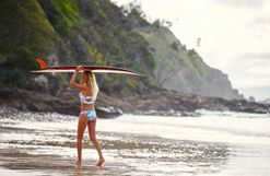 World champion surfer Stephanie Gilmore on how to deal with setbacks and motivate yourself