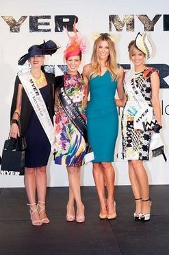 Myer Fashions on the Field 2013 at Royal Randwick