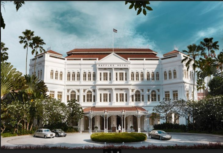 Inside the renovation of the iconic Raffles Singapore