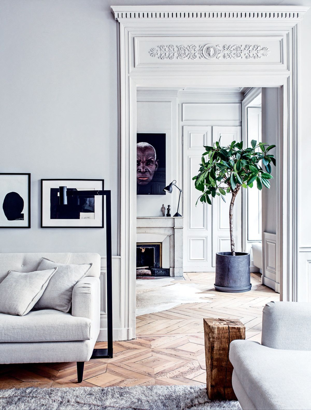 House Tour A Modern French Apartment Within An Opulent
