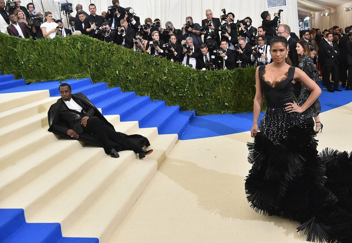P. Diddy cropped Kendall and Kylie Jenner out of his Met Gala Instagram