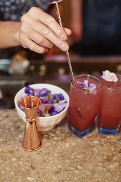 Go inside Bombay Sapphire's project botanicals Sydney dinner party