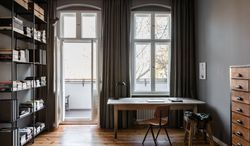 Inside a 19th-century Berlin apartment with a minimalist update