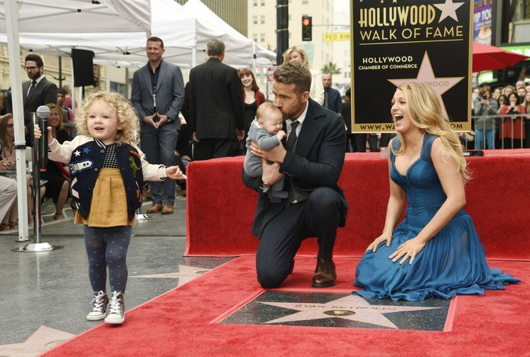 Ryan Reynolds and Blake Lively's children make their red carpet debut