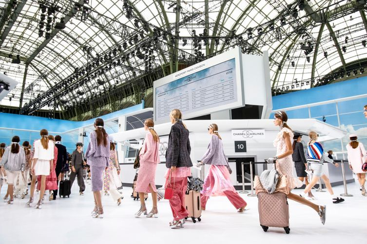 What it was really like to attend that Chanel Airlines show: everything to know