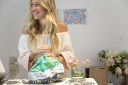 How a Sydney-based artist turned her designs into a new resortwear line