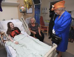 Queen Elizabeth visited Manchester attack survivors in hospital