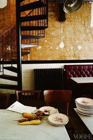 Stylish Parisian dining: Bones restaurant