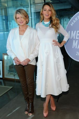 This is Martha Stewart's opinion on Blake Lively closing Preserve
