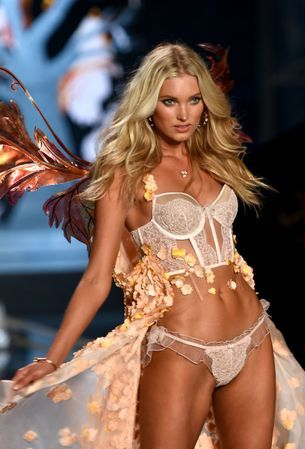 This year's Victoria's Secret Swarovski look was made with one million crystals
