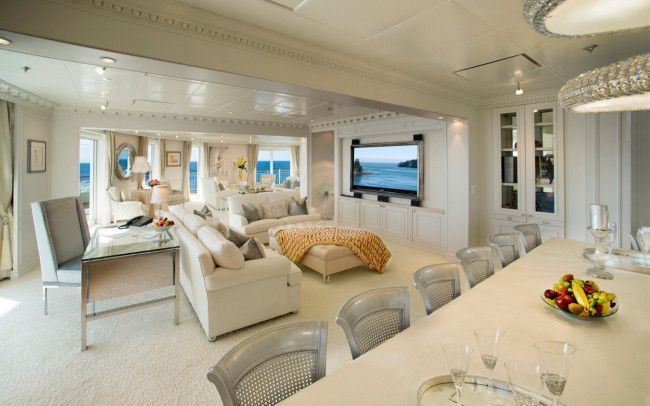 Life aboard the most palatial private yacht ever built