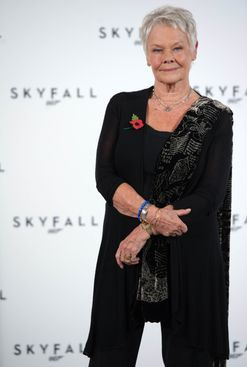 Judi Dench got a tattoo for her 81st birthday