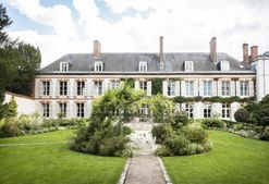 Inside Perrier-Jouët's restored 18th-century mansion in northern France