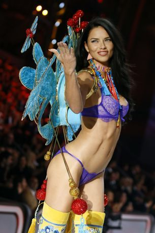 Adriana Lima on preparing her mind and body for her 18th Victoria's Secret show