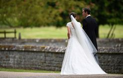 Pippa Middleton's Giles Deacon-designed wedding dress from every angle