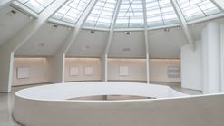 Inside the Agnes Martin exhibition at New York's Guggenheim Museum