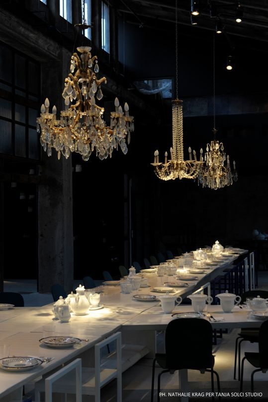 Carlo e camilla restaurant in milan vogue living for Crystal bar milano