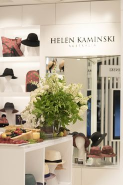 Inside the launch of the Helen Kaminski QVB flagship store