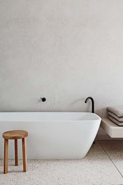 Covetable white and neutral bathrooms from the pages of Vogue Living