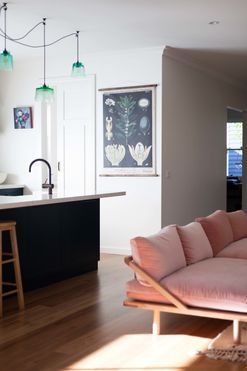 Tour a beauty entrepreneur's light-filled Mornington Peninsula home