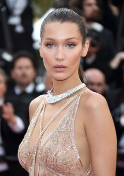 Bella Hadid just got tiny angel wings tattooed onto her ankle