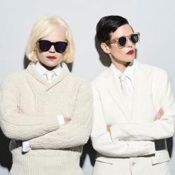 Karen Walker has launched men's eyewear