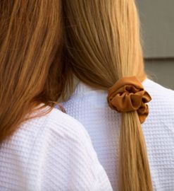 Prep your perm: the scrunchie is back thanks to NYFW