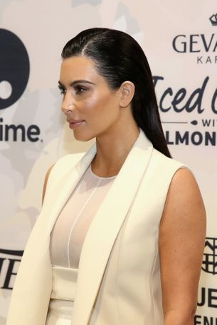 Here's what Kim Kardashian does after every Yeezy show