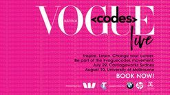 Click here to buy Vogue Codes tickets