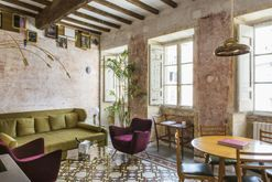 Luxe hotel tour: a contemporary Roman boutique hotel in a 17th-century shell