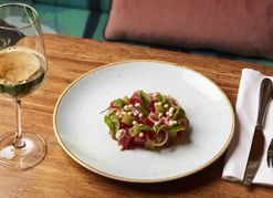 Recipe: Yellowfin tuna tartare with watermelon and coconut