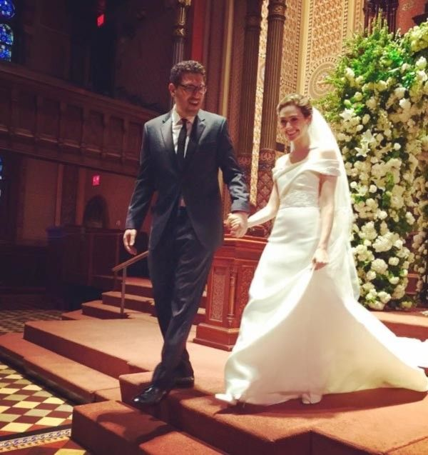 inside emmy rossum s new york wedding   vogue australia
