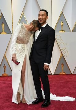 Oscars 2017: love on the red carpet