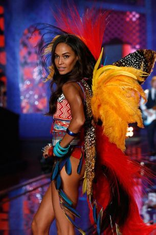 Victoria's Secret's creative director thinks she has the world's best job too