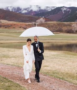 This is what it looks like when a stylist gets married over a celebrity-filled weekend in Aspen