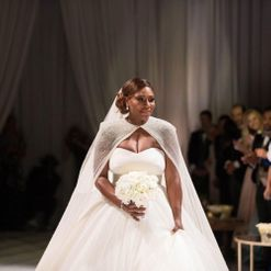 Serena Williams wore three wedding dresses to marry Alexis Ohanian